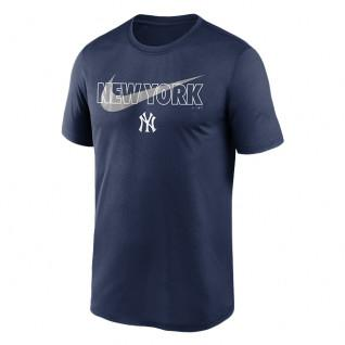 Camiseta New York Yankees Big City Swoosh Legend