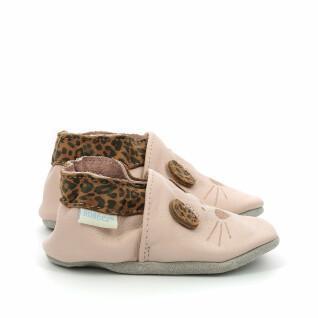 Zapatillas de bebé Robeez Leo Mouse