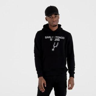 Sweat   capuche New Era  avec logo de l'équipe San Antonio Spurs