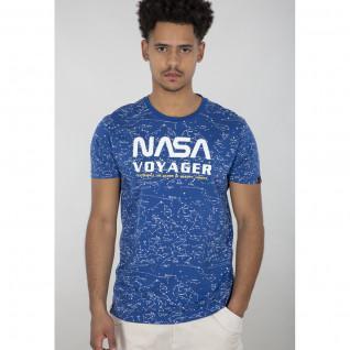 Camiseta Alpha Industries NASA Voyager AOP