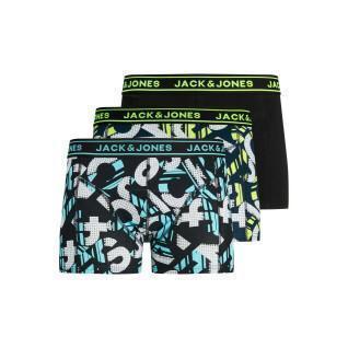 Juego de 3 calzoncillos para niños Jack & Jones Logo Print