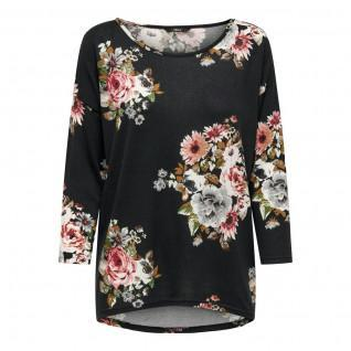 Camiseta de mujer Only Elcos manches 4/5