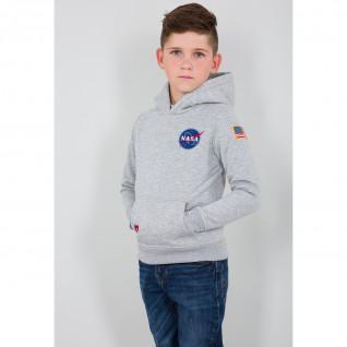 Sudadera con capucha niño Alpha Industries Space Shuttle