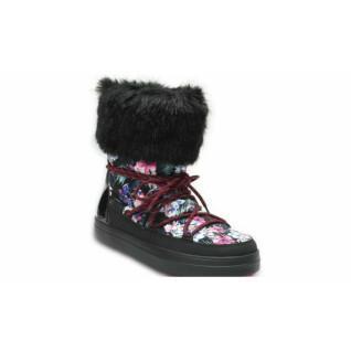 Botas de nieve para mujer Crocs lodgepoint graphic lace