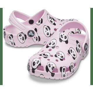 Crocs enfant Classic Panda Print Clog