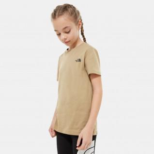 Camiseta para niños The North Face Simple Dome