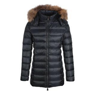 Chaqueta con capucha para mujer Jott Perle Mi-long Basic