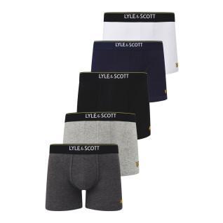 Pack de 5 boxers Lyle & Scott Jackson