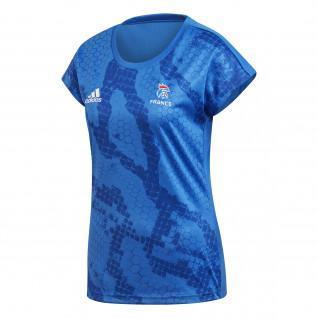 Camiseta de entrenamiento para mujer Adidas Equipe de France Handball