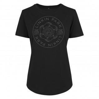 Camiseta de mujer Urban Classics linkin park hex circle box