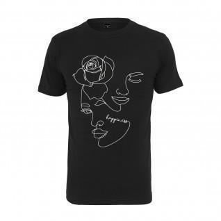 Camiseta de mujer Mister Tee one line rose