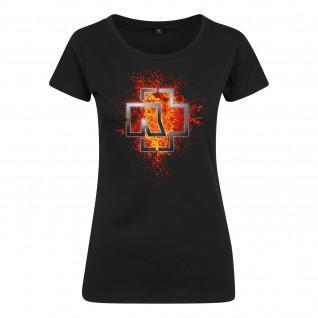 Camiseta Rammstein rammstein logo lava mujer