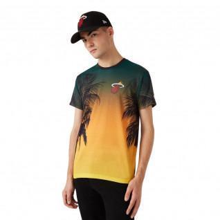 Camiseta New Era NBA Miami Heat Aop summer city