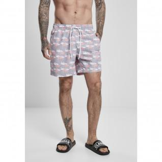 Pantalones cortos de baño Urban Classics pattern (grandes tailles)