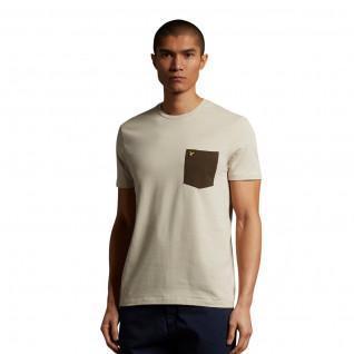 Camiseta Lyle & Scott Contrast Pocket