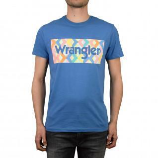 Camiseta Wrangler summer logo